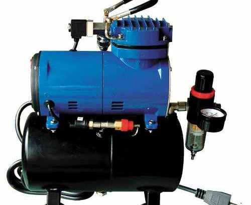 Full review – Paasche D3000R 1/8 HP Compressor with Tank, Regulator and Moisture Trap