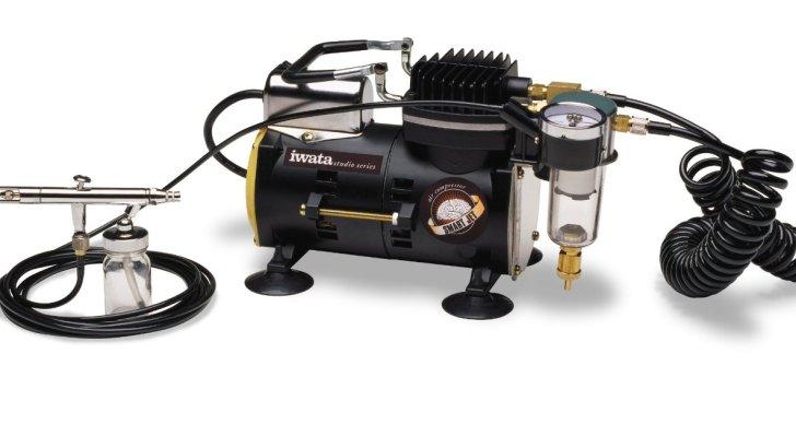 Iwata-Medea Studio Series Smart Jet Single Piston Air Compressor Review