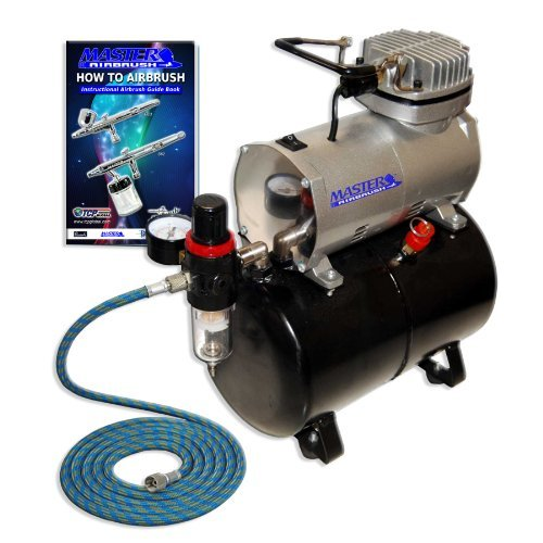 NEW Quiet 1:5 hp MASTER AIRBRUSH TANK COMPRESSOR review