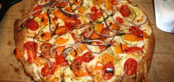 Gluten free maize meal pizza