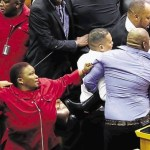 Chaos In Parliament