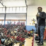 Malema Against The Burning Of Schools