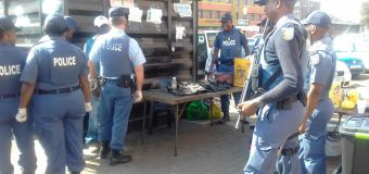 Operation Fiela Busy Day For SAPS