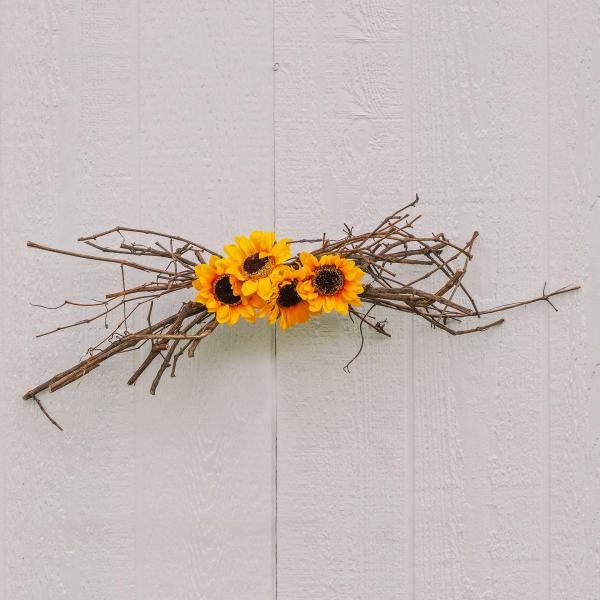 Sunflower Decor Swag