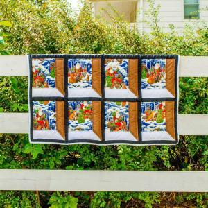 Amish and Mennonite Made Quilts - Santa's Window
