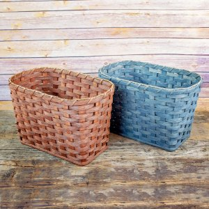 Small Waste Basket Brown