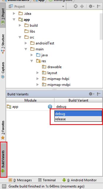 BuildVariants Default