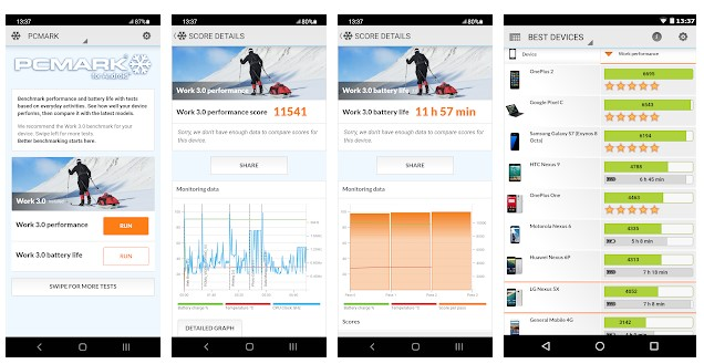 The Best Free Android Benchmark app for GPU