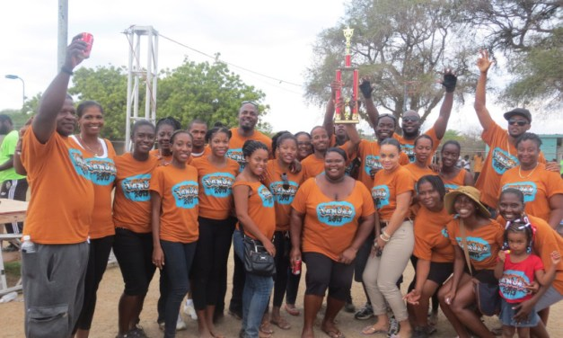 We did it! Team Government of Anguilla – Anguilla Fun Day Champs, 2013