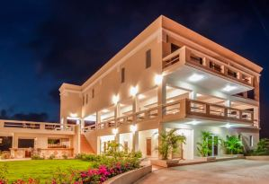 Exterior of La Vue and Flavours Restaurant, Anguilla