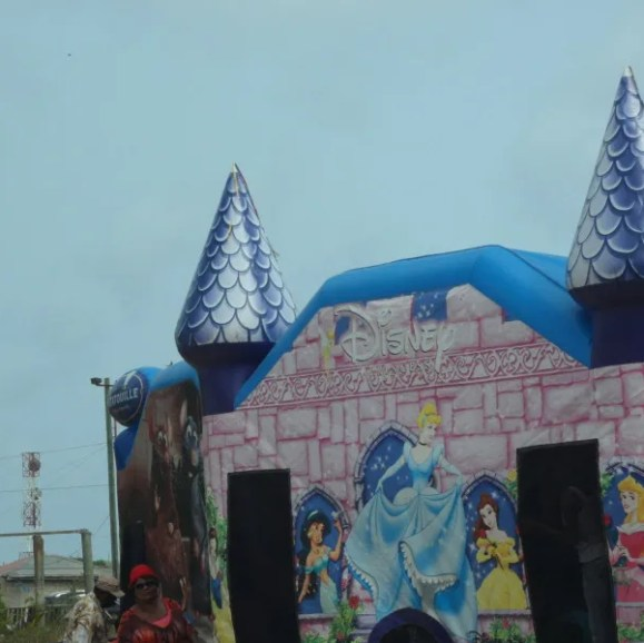 Bouncing Castle at South Valley Community Street Fair Anguilla