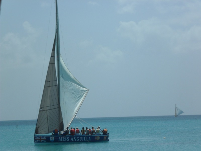 Boat Racing on Board the Miss Anguilla - My Anguilla Experience