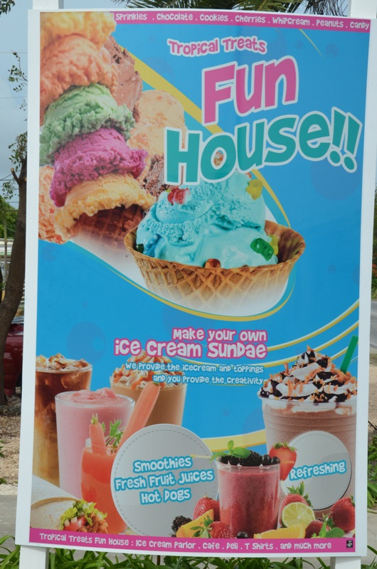 Tropical Treats and the Fun House