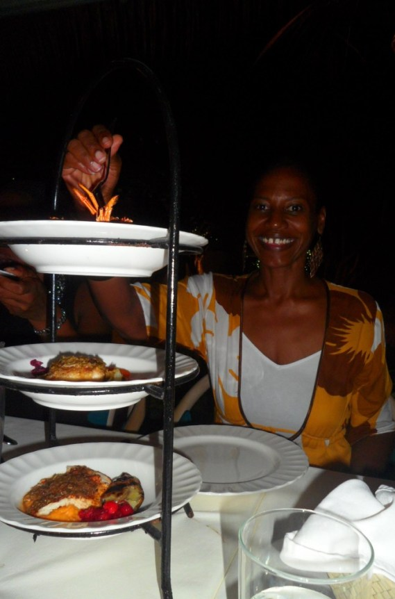 Caribbean Sampler - Dinner at Blanchards Restaurant