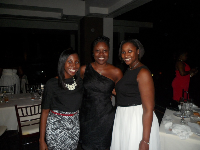 Shantelle, Pat and I at the Tourism Awards and Gala