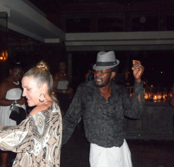 Guests dancing at the Tourism Gala
