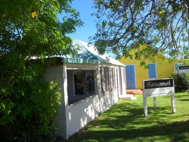 Exterior of Savannah Art Gallery, Anguilla
