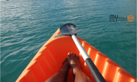 Kayaking to Little Bay Anguilla