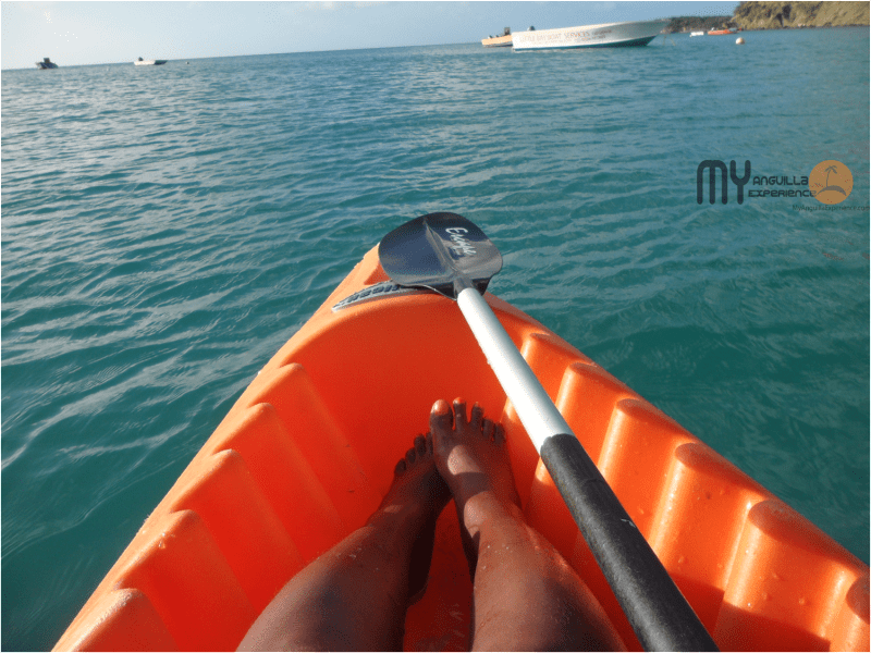 Kayaking from Crocus Bay to Little Bay Anguilla