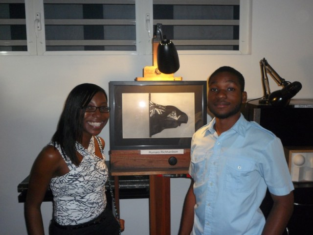 Romaro Richardson - Ani Art Academy, Anguilla