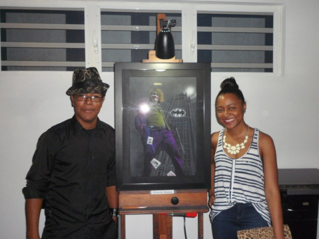 Mojica with Sherise  - Ani Art Academy Anguilla