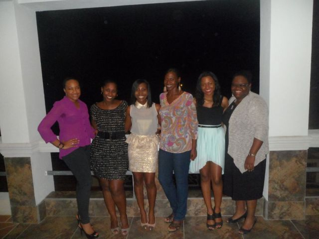 30th birthday with the girls at La Vue