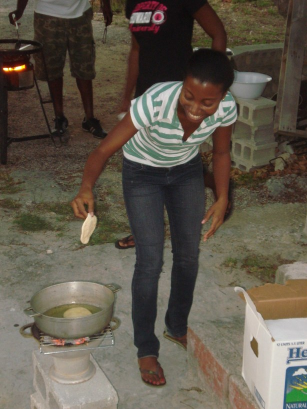 Fish Fry at Pat's House - 28th