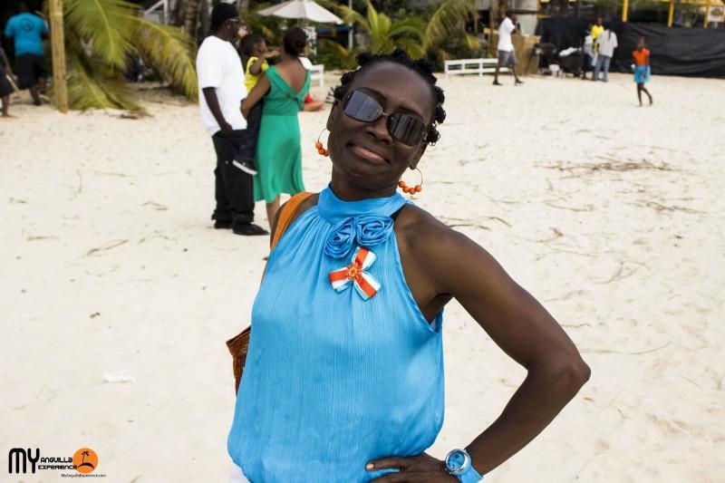 Rosanna at Boat Race, Anguilla