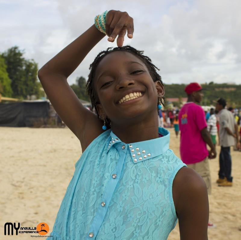 Olinka at Boat Race, Anguilla
