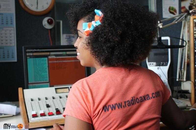 DJ at Radio Anguilla