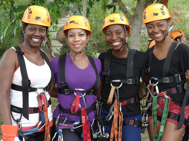 Zip Lining with Canopy Tours in Punta Cana