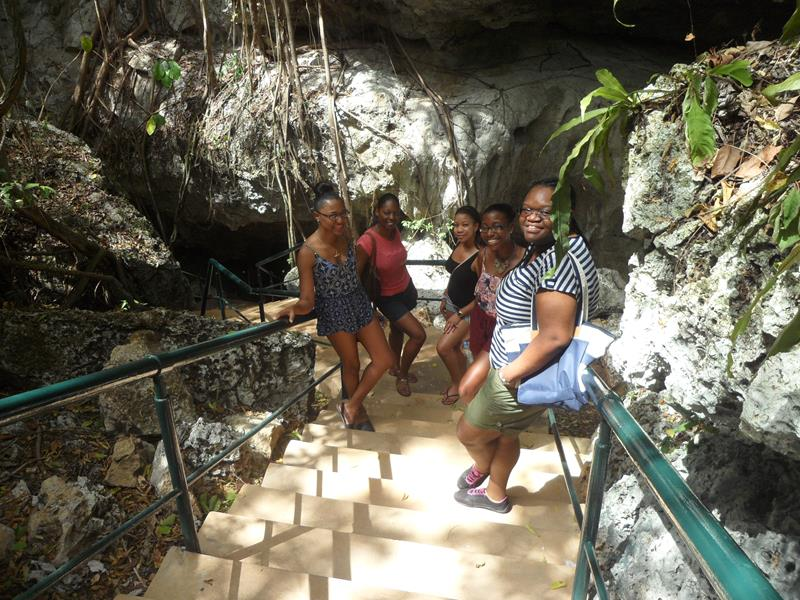 Outside of the Cave of Wonders - Romana