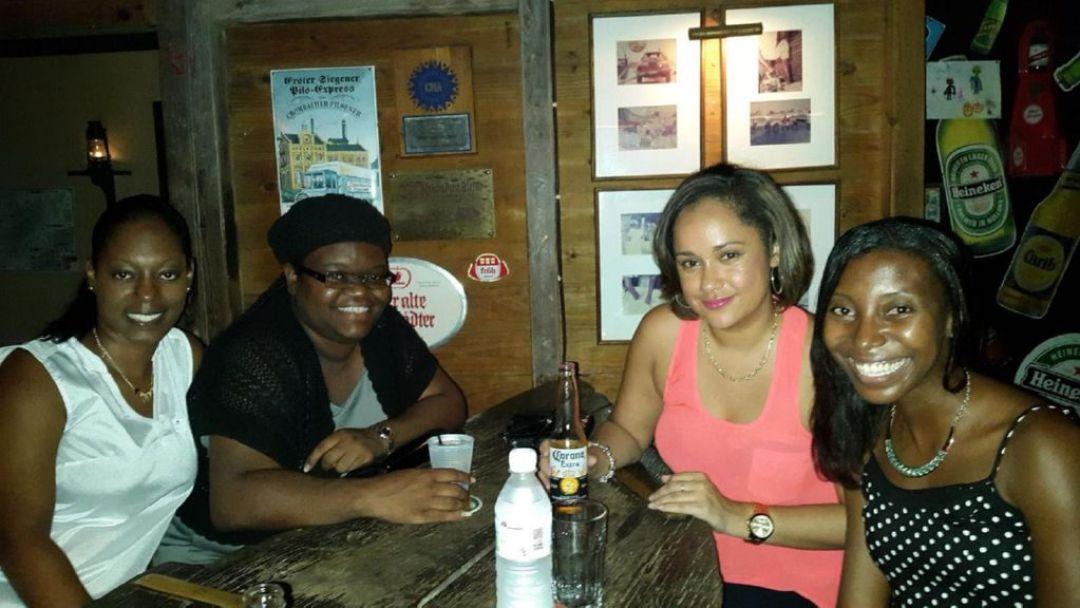 Lauren, Sherma, Shauna and I at PumpHouse