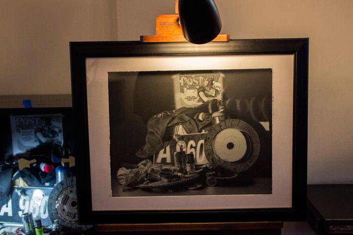 ANI Art Academy exibit by Romaro Richardson