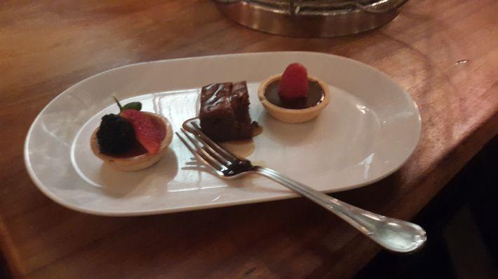 Dessert at Spice Restaurant