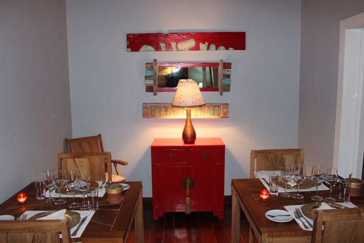 Indoors at De Cuisine, Anguilla