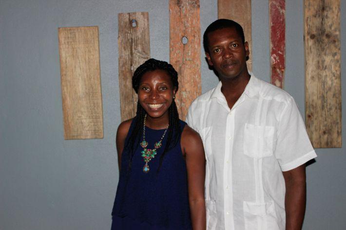 Joash and I at De Cuisine