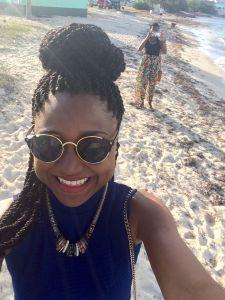 Sherise Selfie at Festival