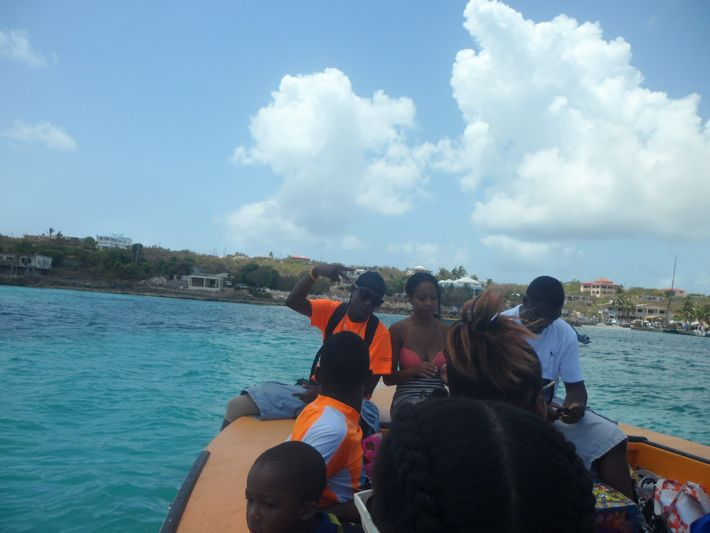 Heading to Scrub Island