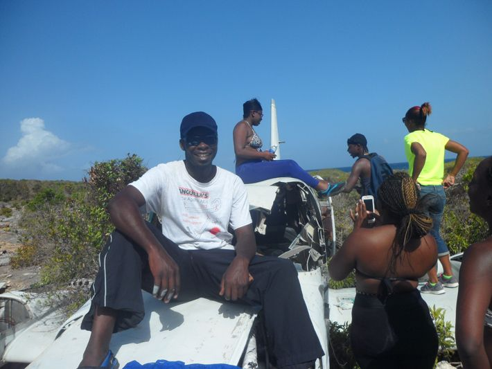 Scrub Island Anguilla with friends
