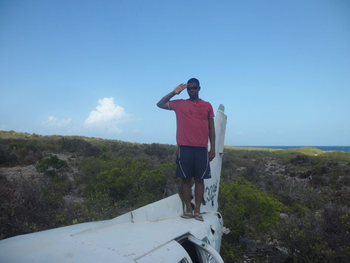 Delon the wingman for Air Scrub Island