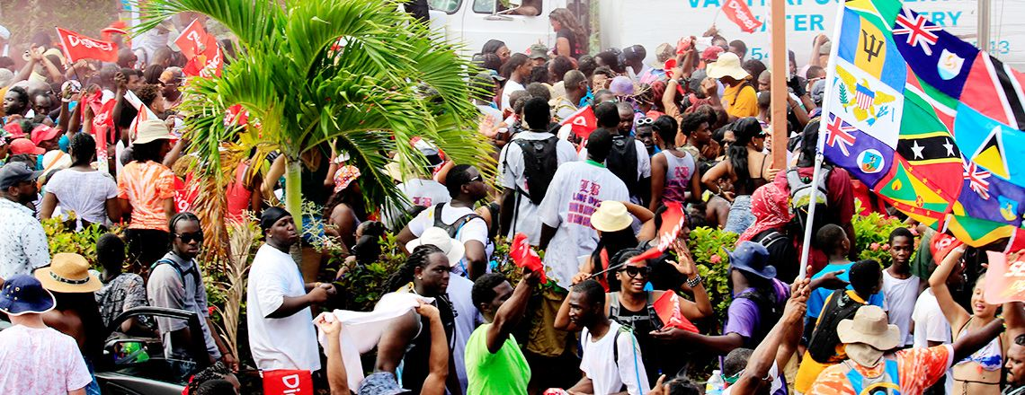 Anguilla Jouvert and Beach Party 2015