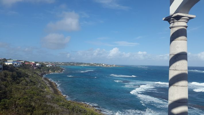 Hike on Anguilla's coast