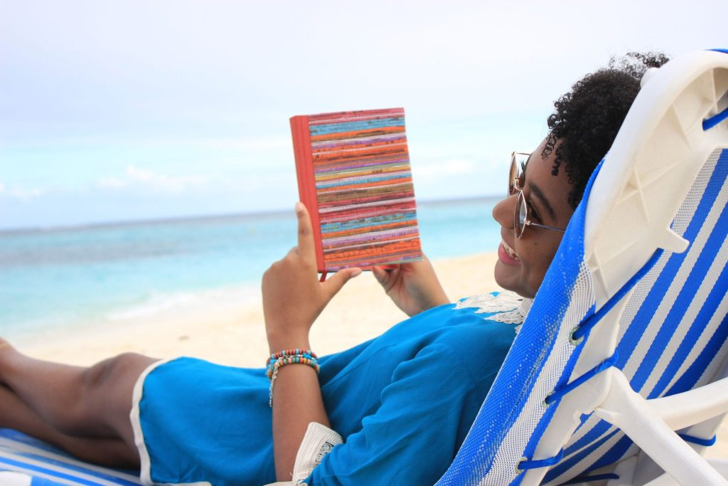 books and beaches