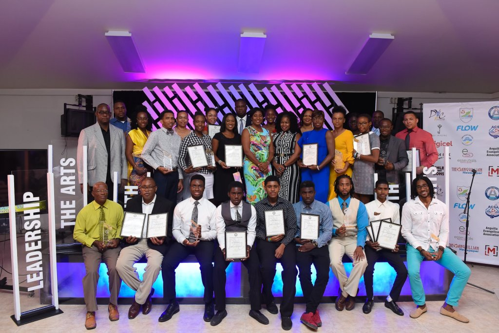 Finalist and Winners National Youth Awards with Minister of Youth Affairs