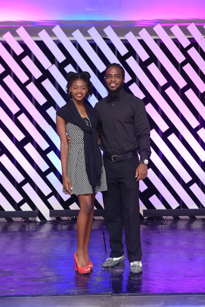 Riana Richardson and Conlloyd Gumbs Hosts of National Youth Awards Ceremony