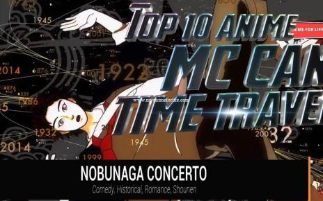 Top 10 Anime Where MC Can Time Travel