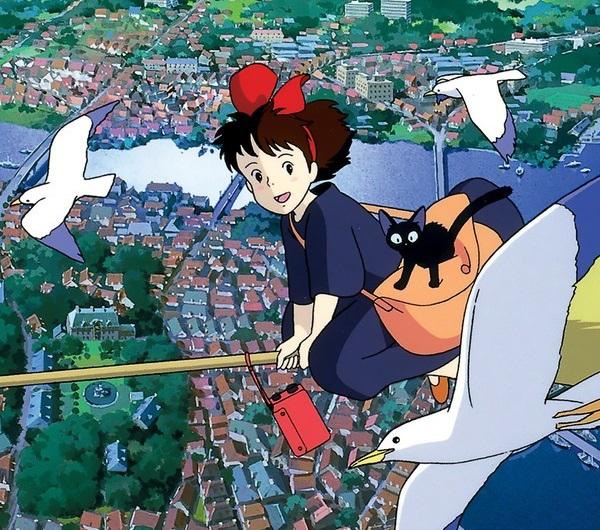 Majo no Takkyuubin anime