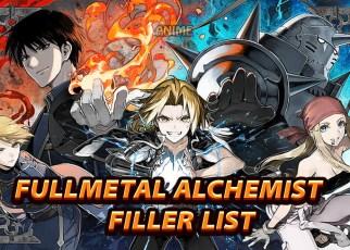 fullmetal alchemist filler list