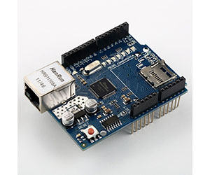 Arduino Ethernet Shield with SD Host